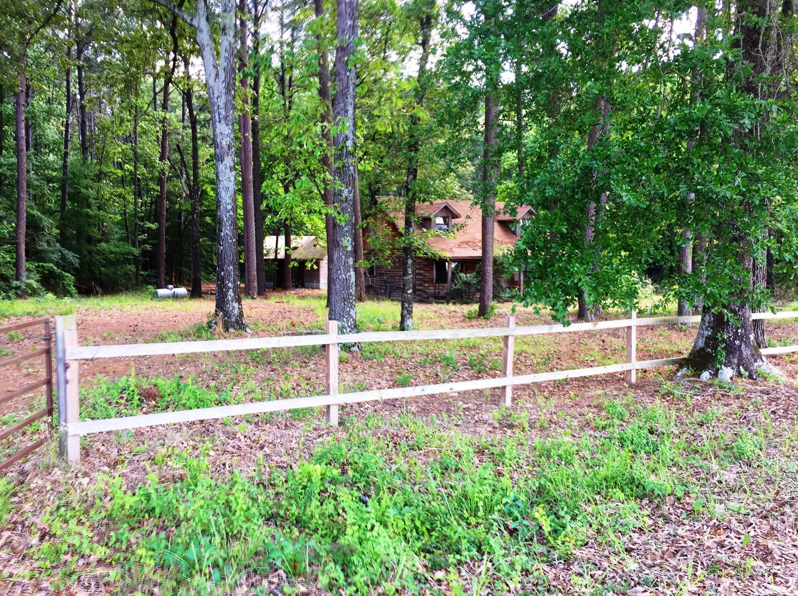 Sold - RUSTIC LOG CABIN & WOODED LAND FOR SALE IN EAST TEXAS