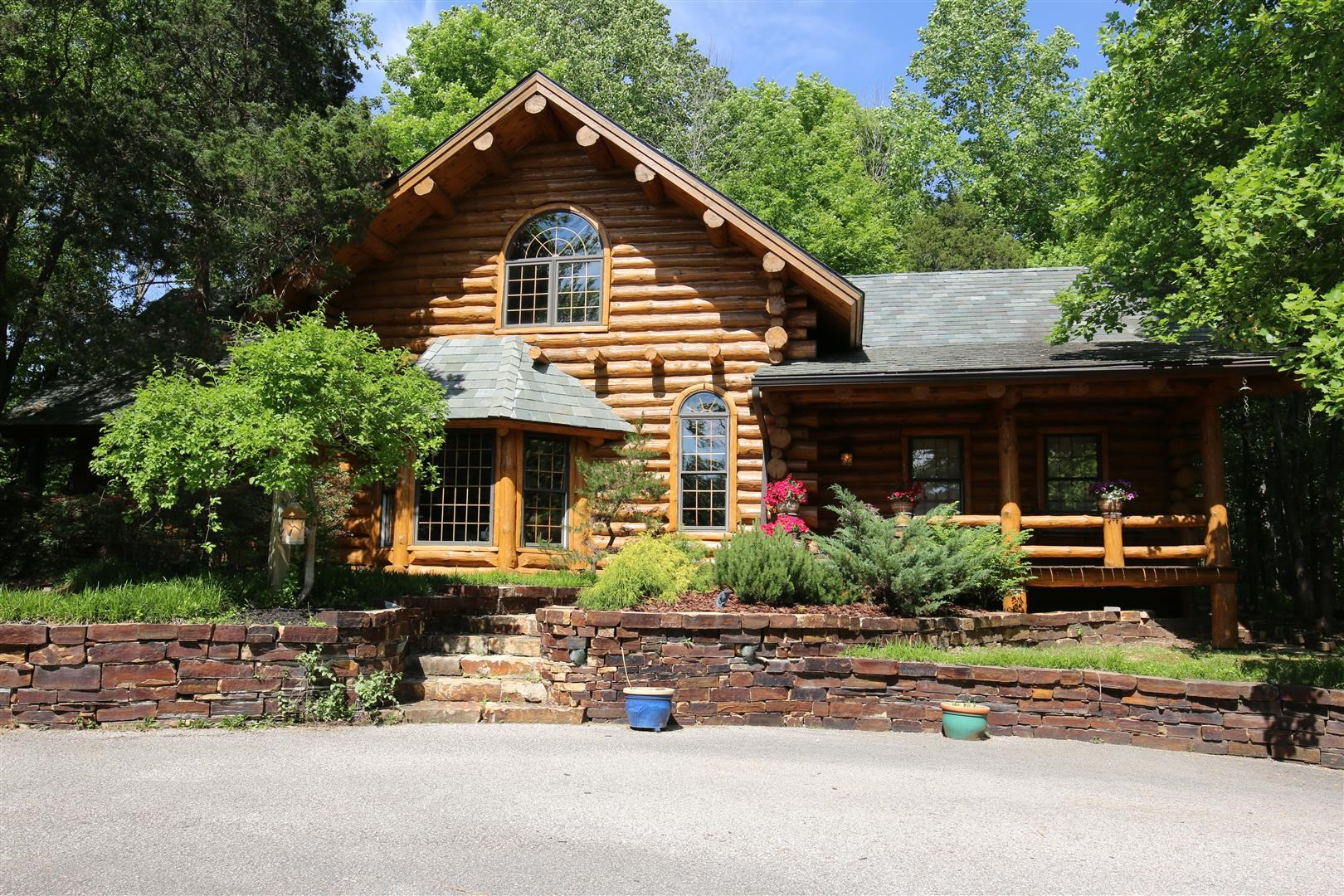 Sold - Bloomington, IN log home for sale, Indiana resort property