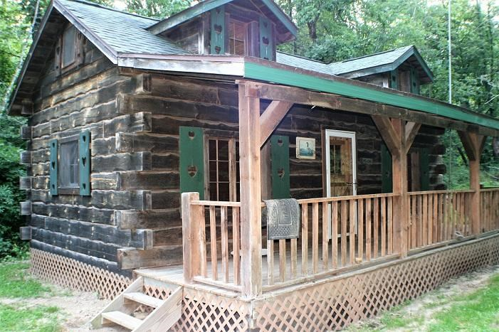 Fabulous Sold Amish Built Log Cabin On 6 Acres For Sale In Wi Download Free Architecture Designs Scobabritishbridgeorg