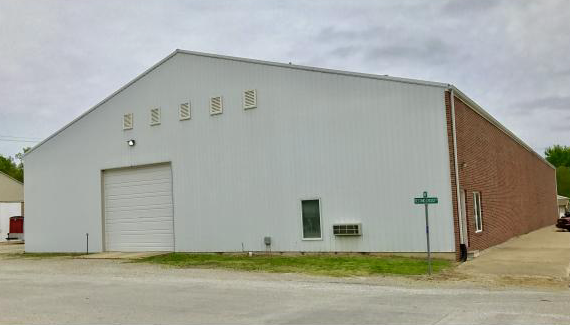 Warehouse Storage Building With Small Office