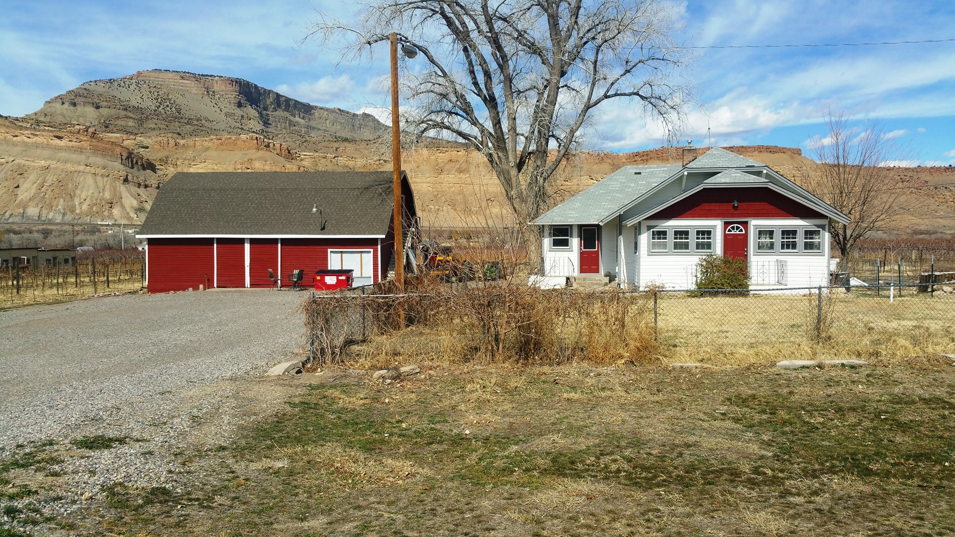 Sold Western Colorado Small Vineyard And Farmhouse For Sale