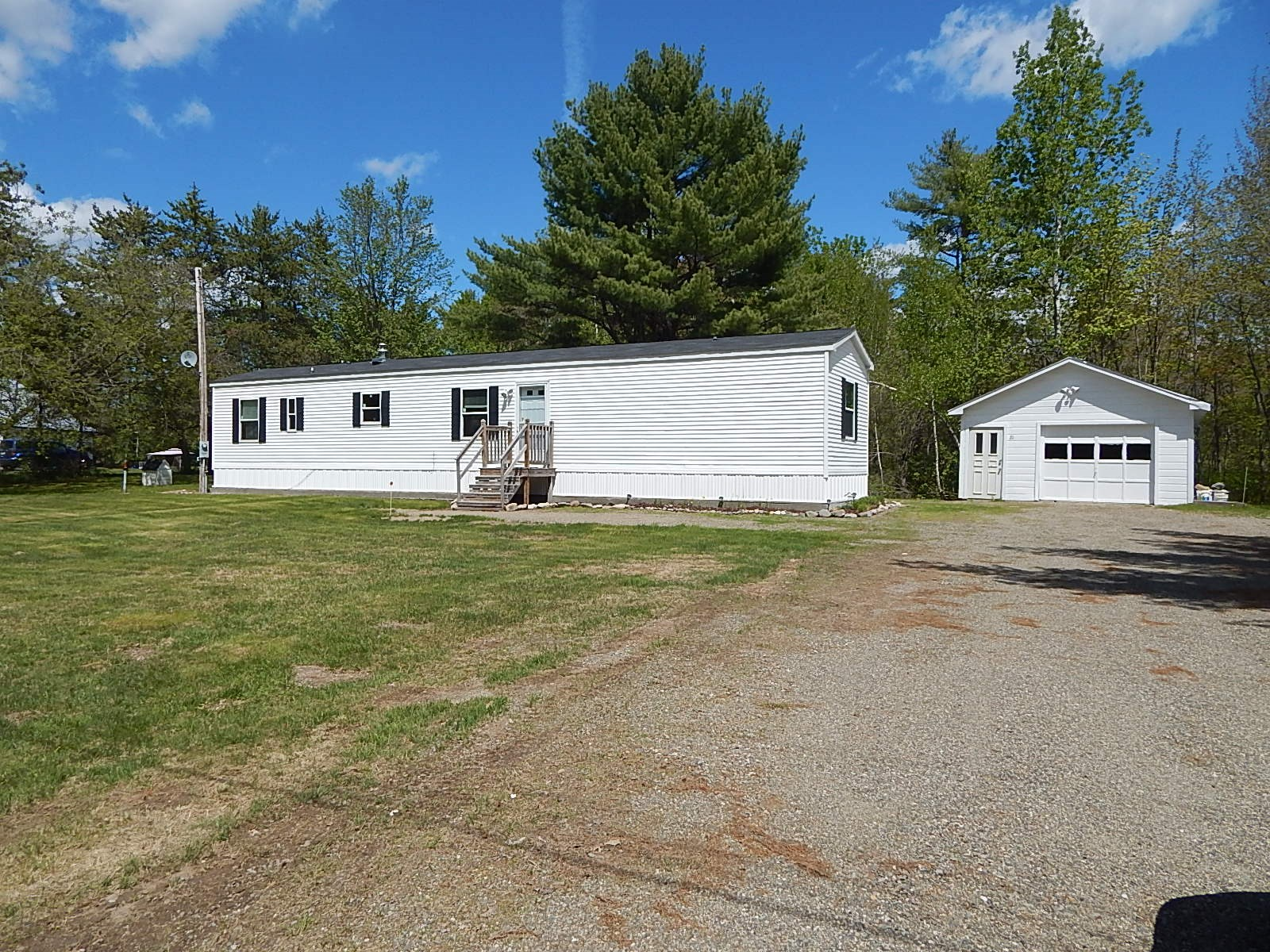 Sold - Country Mobile Home For Sale | Enfield, Maine