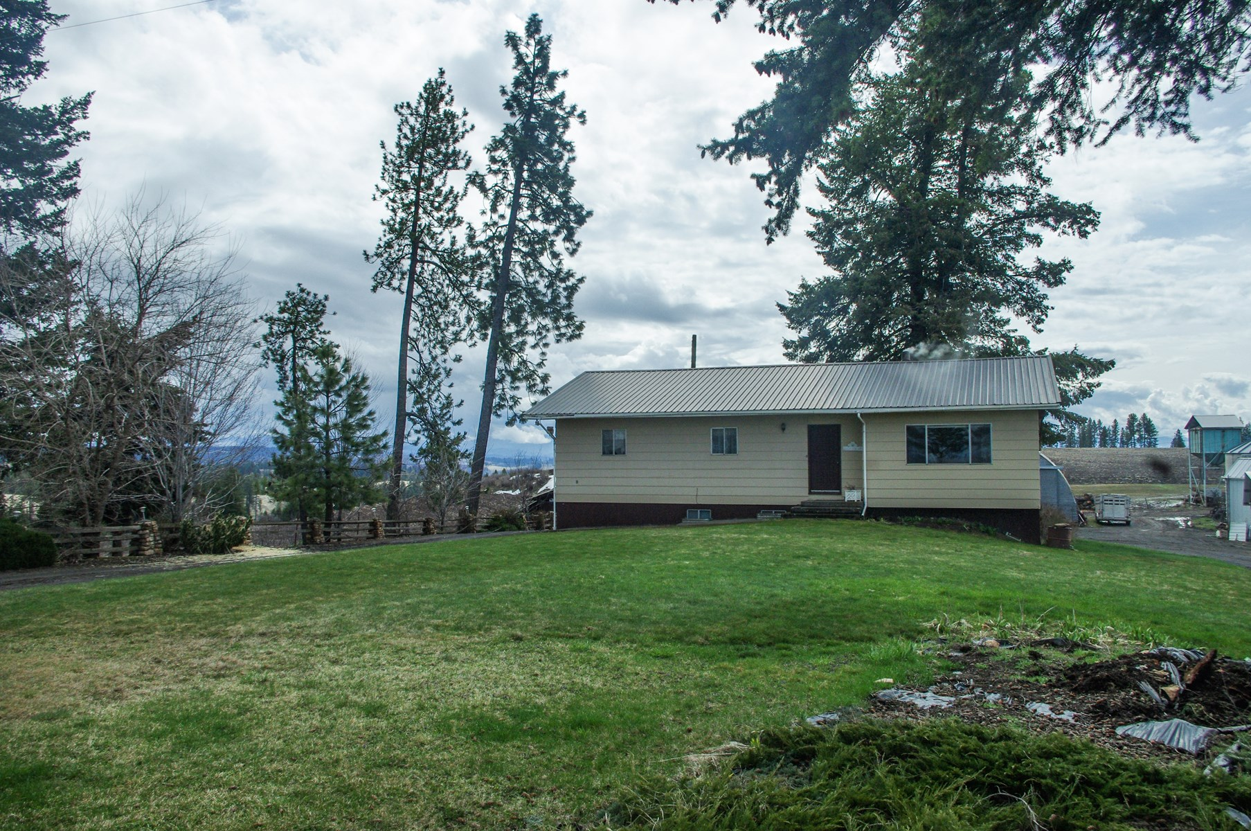 Pleasant Country Home Farm Ranch For Sale In Kamiah Idaho Download Free Architecture Designs Grimeyleaguecom
