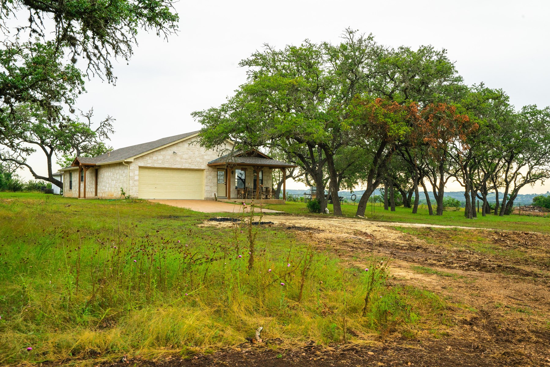 55 Acres+House-Hill Country Land for Sale Close to Boerne